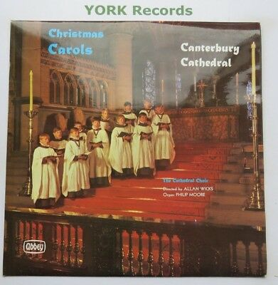 CHRISTMAS CAROLS AT CANTERBURY CATHEDRAL - Excellent Con LP Record Abbey XMS 670