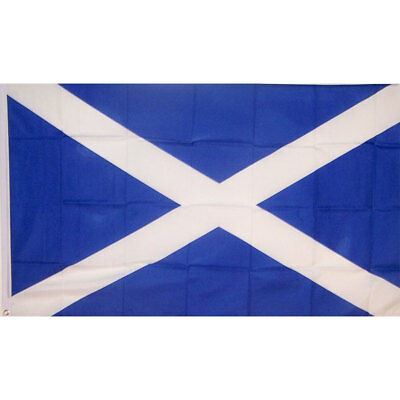 Scotland Cross Flag Banner Saltire Scottish Pennant Durability Outdoor Rectangle