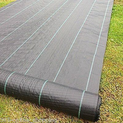 50m² ground cover fabric landscape garden weed control membrane heavy duty Mulch