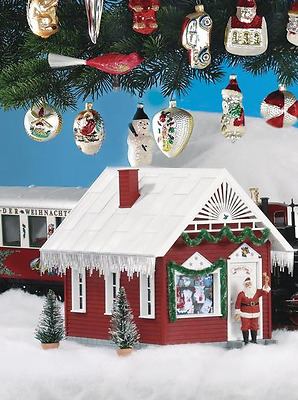 Piko G Scale Santa's House Built Up | Ships In 1 Business Day | 62703