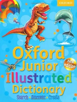 Oxford Junior Illustrated Dictionary 2012 Childrens Kids Gift Study Guide Book