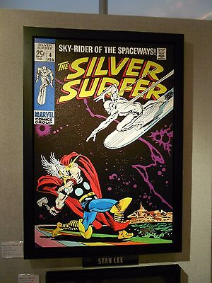 Silver Surfer # 4 - Limited Edition Framed Boxed Canvas