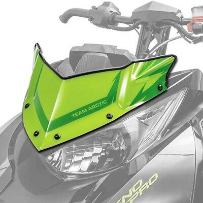 Arctic Cat Extreme Low Flyscreen Windshield Green 2014-2018 ZR XF M PTA 7639-693