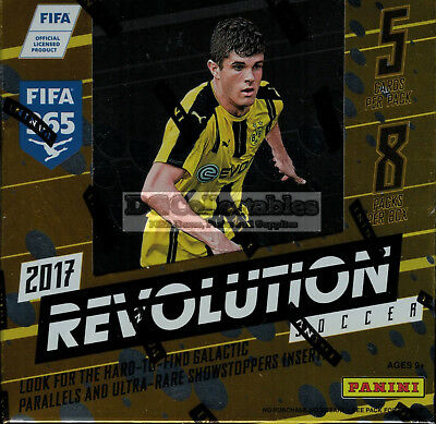 2017 Panini Revolution Soccer Football Factory Sealed Hobby Box New Express Post