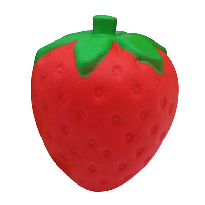 Squeeze Jumbo Stress Stretch Squishy Strawberry Scented Slow Rising Toys for Kid