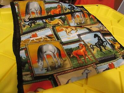 Horse Tote Bag w Coin Purse MADE IN SIDE