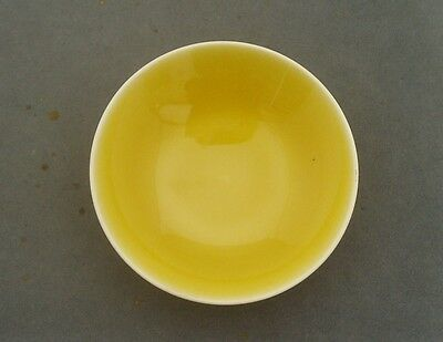 Rookwood Art Pottery Usa Sunshine Yellow Glaze Pin Dish 1936