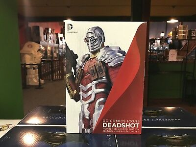 "DC Direct Collectibles Statue MIB - DC Comics ICONS DEADSHOT 12"" DAVID GIRAUD"