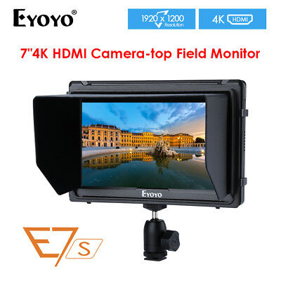 "Feelworld FW760 7"" Full HD 1080P1920x1200 IPS HDMI Camera Audio Monitor Peaking"