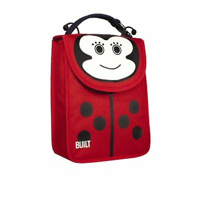 NEW BUILT NY Big Apple Buddies Lunch Sack Ladybug (RRP $40)