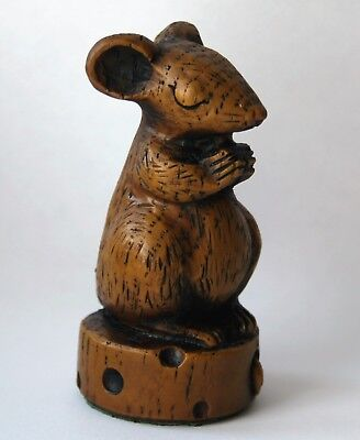 Church Mouse Ornament Figurine Praying Cheese Cute Collectable unique Mice Gift