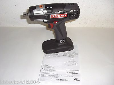 "NEW Craftsman C3 Heavy Duty 19.2V Cordless 1/2"" Reversible Impact Wrench ID2030"