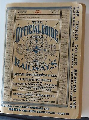 Official Guide of the Railways  -  July 1954