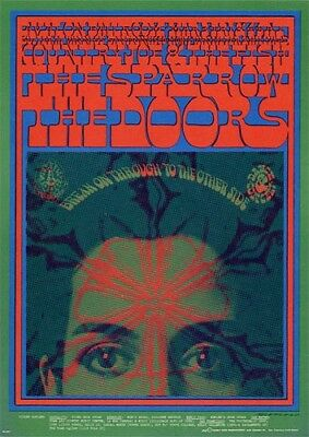 The Doors POSTCARD Sparrow Country Joe & The Fish Family Dog FD50 Victor Moscoso
