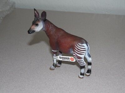 Schleich Okapi 14361 Wild Life Figure Toy Retired W/Tags
