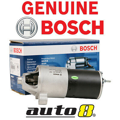 Genuine Bosch Starter Motor fits Ford LTD DC DF DL AU 5.0L V8 Windsor 1991-2003