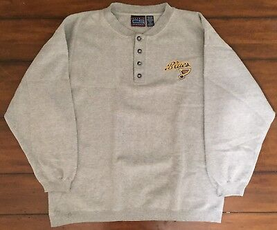 vtg Vintage St Louis Blues NHL Crew neck Sweater Hockey Crable Sportswear XL