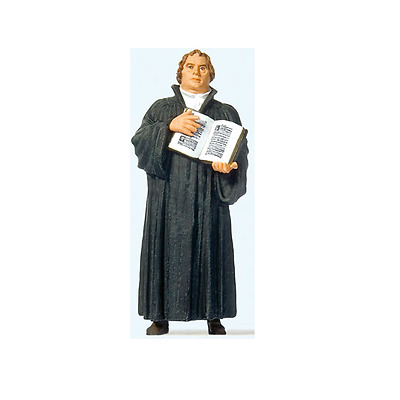Preiser G Scale 1/22.5 Marin Luther Statue Figure | Bn | 45519