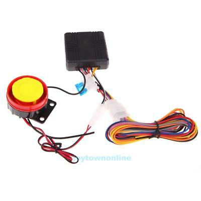 12V 100m Universal Motorcycle Alarm Scooter Alarm Sirens #JT1