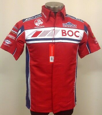 V8 Supercars Holden Racing Team BOC Team Pit Crew Shirt XS-S-XL