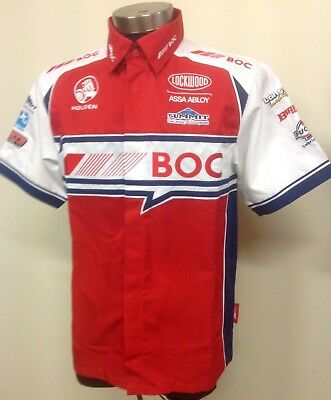 V8 Supercars Holden Racing Team BOC Team Pit Crew Shirt XS-S-M-L-XL
