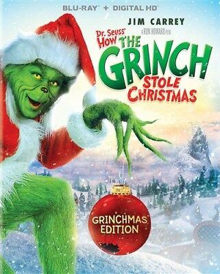DR SEUSS HOW THE GRINCH STOLE CHRISTMAS New Blu-ray Grinchmas Edition