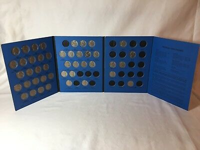 Partial Set of 44 1962-Present Jefferson Nickels in Whitman Album!