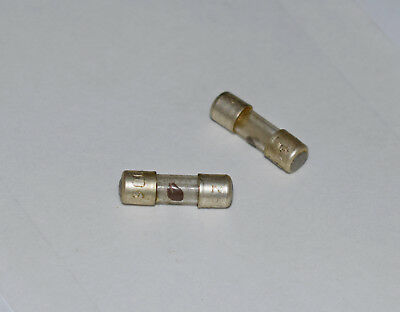 Fuse Link Size 00 Glass 2A 5/8 Inch By 3/16 Inch - 2 Pieces