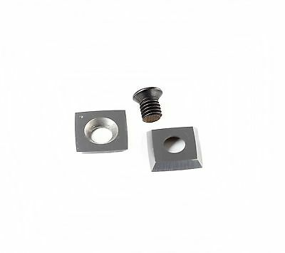 """15mm (.59"""") Square With 2""""(50mm) Radius face Carbide Insert Cutter for Wood"""