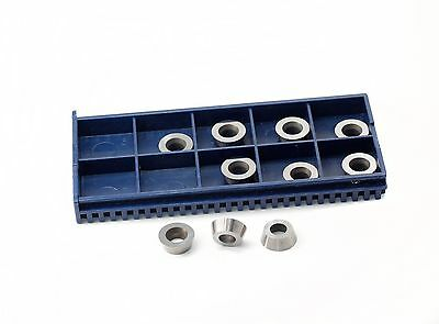 """11mm(.433"""")Round Carbide Insert Cutter for wood turning,pack of 10"""