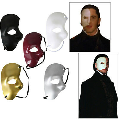 Phantom of the opera Venetian Masquerade Party Eye Theatrical HALF FACE Mask HOT