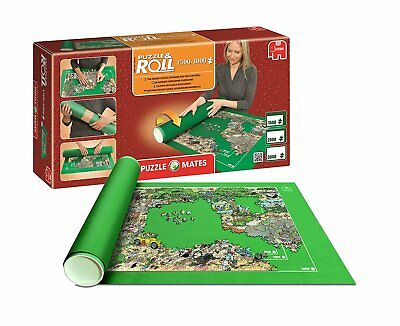 Jumbo 17691. Pack Puzzle Roll 3000 XXL. Tapete universal + Pegamento puzzle