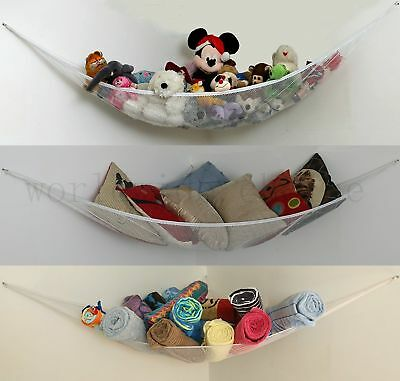 New Large Soft Toy Hammock Mesh Net Teddy Bear Storage Child Nursery Tidy