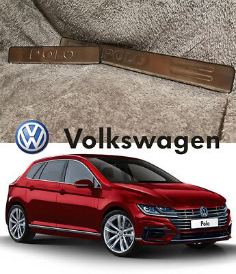 VW POLO 2011-2017 Outer Door Sill,Protector,Scuff Plate,entry plate heavy duty