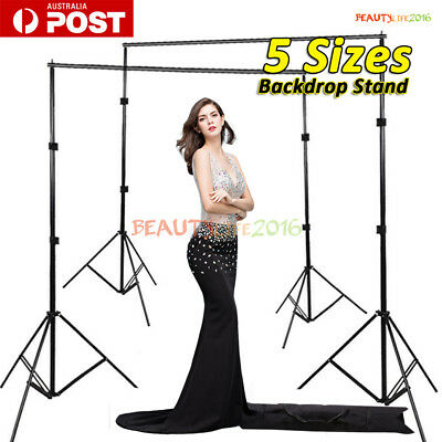 Heavy Duty Photography Photo Studio Background Backdrop Support Stand Kits