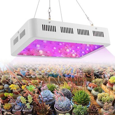 Mars 300W LED Grow Light Full Spectrum Hydroponic System for Indoor Plant Grow@F