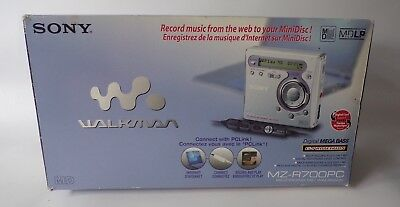 SONY Walkman MZ-R700PC Personal MiniDisc Player - Boxed with Accessories
