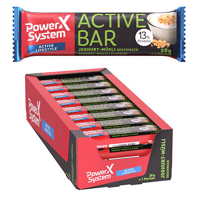18,33€/KGPower System Active Bar 24x35g Energie Snack Riegel Carb Kohlenhydrat