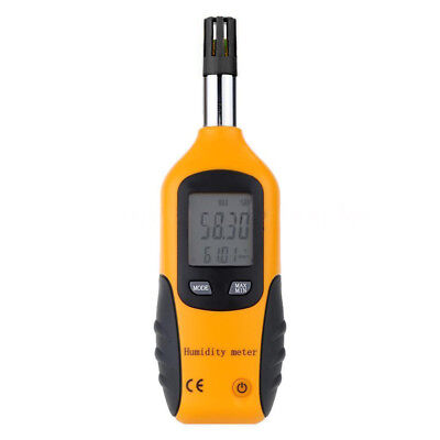 HT-86 Digital Thermometer Hygrometer Wet Bulb/Dew Point Temperature Meter O T6N5