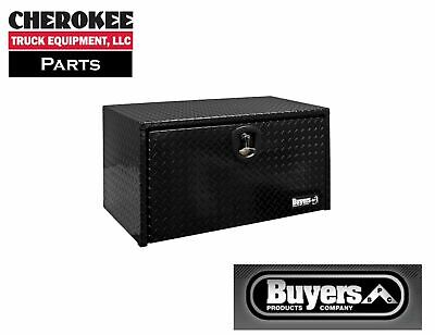 Buyers Products 1725103, 18x18x30 Black Diamond Tread Aluminum Underbody Toolbox