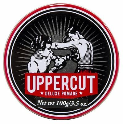 Uppercut Deluxe Pomade Men Hair Styling Product slick back, Quiff 100G
