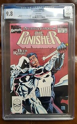 The Punisher, Annual #2 - First meeting of Moon Knight and Punisher Key CGC 9.8