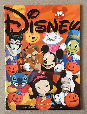 DISNEY Halloween Catalog Mickey Stitch Pooh Cruella Snow White Cover + BONUS!