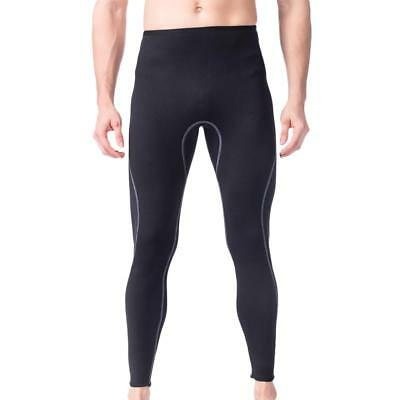 Mens 3mm Neoprene Scuba Diving Surfing Snorkeling Wetsuit Legging Trousers Pants