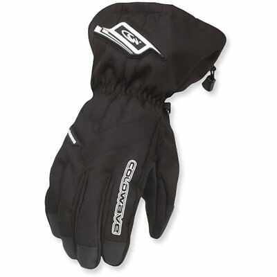 New Women's Coldwave Sno Fire Black Gloves X-Large Xl Extra Large Snow Weather