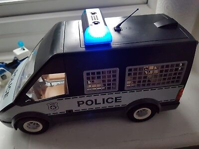 how to build playmobil police station