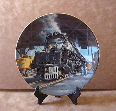 """""""the Big Boy"""" Plate ~ The Golden Age Of American Railroads ~ Le # 0616A"""