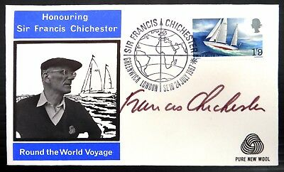 GB 1967 Autographed by Sir Francis Chichester FDC NB3274