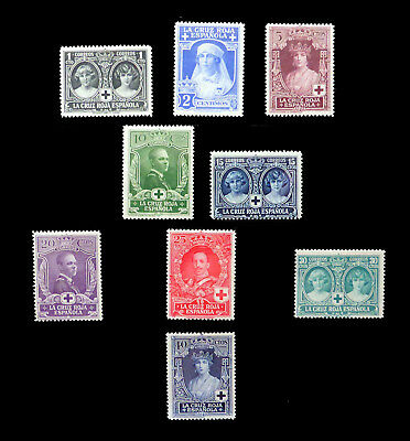 SPAIN 1926 SG394/402 Mounted Mint NB3281