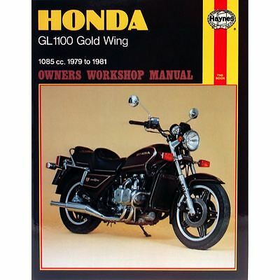Manual Haynes for 1983 Honda GL 1100 AD Gold Wing (Aspencade)